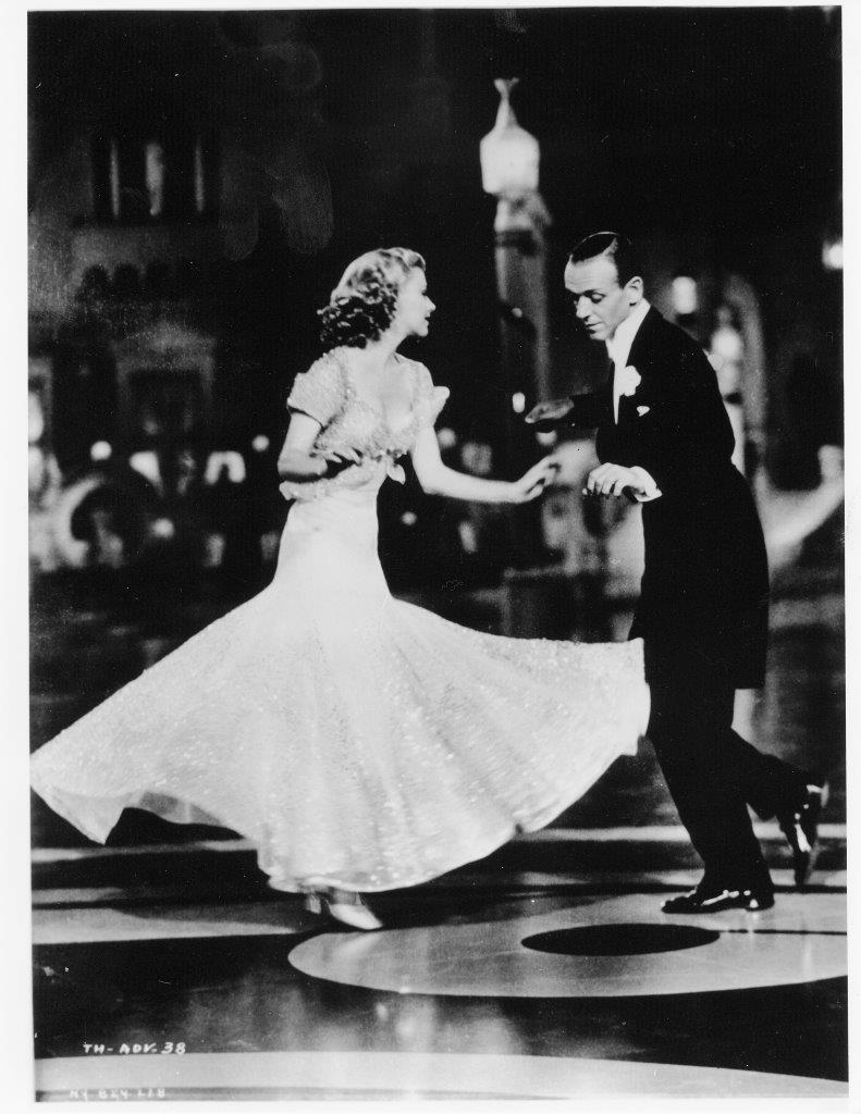 Fred Astaire e Ginger Rogers em O Picolino (Top Hat), dir. Mark Sandrich, 1935 © Lobster Films.